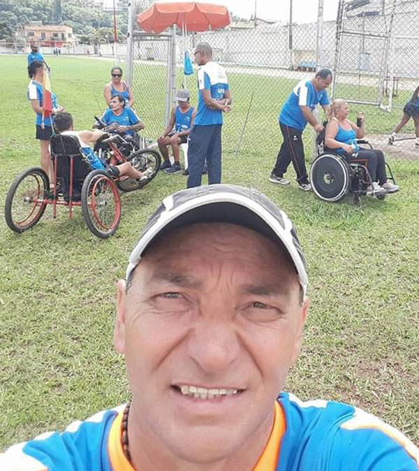 Ivanildo Bigois de Paiva - Deficiente físico