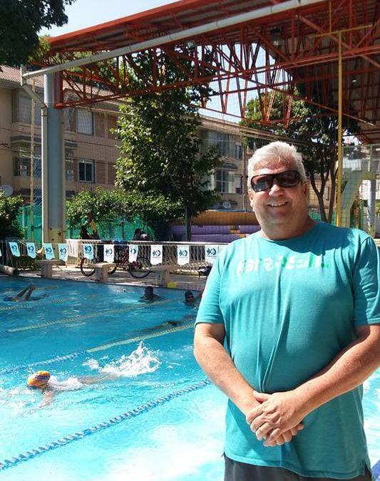 Treinador Marcos Rojo Prado na APA Campeã